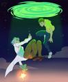 Rick and Morty Anime version  - random photo