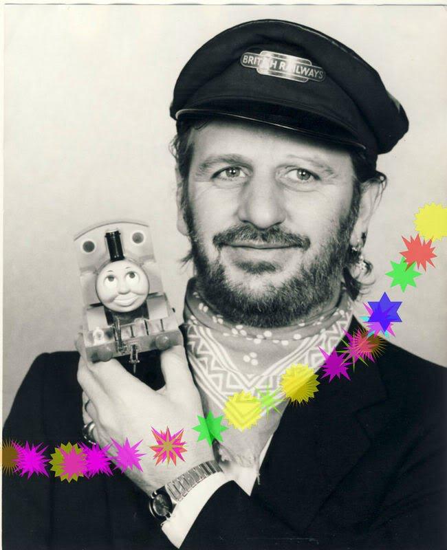 Ringo and Thomas the Tank Engine