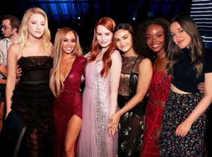 Riverdale cast ladies attend the एमटीवी Movie Awards in Santa Monica (June 18)