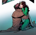 Rogue & Gambit - First Kiss?