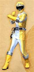 Ronny Morphed As The Yellow Operation Overdrive Ranger