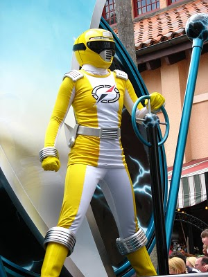 Ronny Robinson/Yellow Overdrive Ranger (from Power Rangers Operation Overdrive)