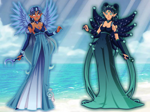 Sailor Senshi Maker two sisters of the water