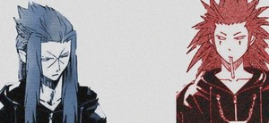 Saix and Axel | Kingdom Hearts