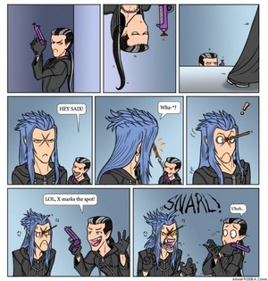 Saix and Xigbar | Kingdom Hearts