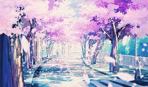 Sakura achtergrond