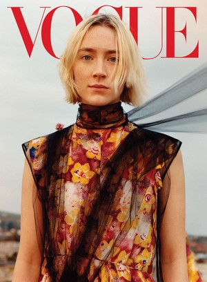 Saoirse Ronan covers Vogue US [August 2018]