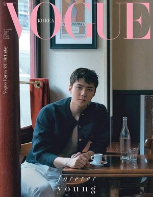 Sehun for Vogue Korea -2018