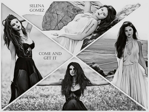 Selena Gomez & The Scene fondo de pantalla called Selena Gomez - Come and Get It fondo de pantalla