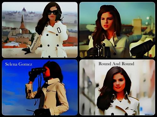 Selena Gomez & The Scene fondo de pantalla titled Selena Gomez - Round And Round fondo de pantalla