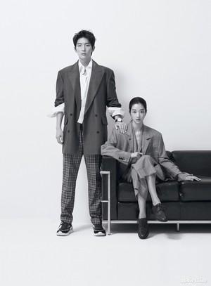 Seo Ye Ji and Lee Joon Gi Marie Claire Magazine May' 18
