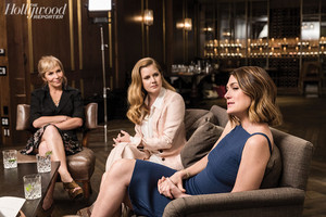 Sharp Objects' Amy Adams, Marti Noxon and Gillian Flynn at The Hollywood Reporter Photoshoot