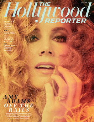 Sharp Objects' Amy Adams at The Hollywood Reporter Cover