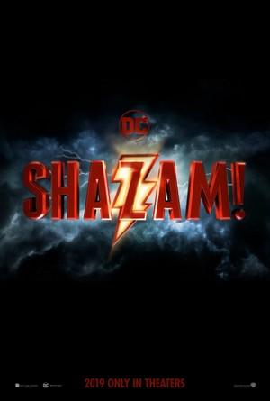 Shazam! (2019) Logo Poster