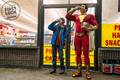 Shazam first look at costume