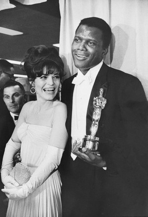 Sidney Poitier And Ann Bancroft