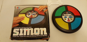 Vintage 1978 Simon With The 1992 Redesign Box