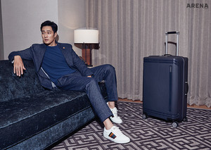 So Ji Sub - Arena Homme Plus Magazine July Issue '18 (Samsonite)