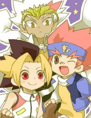 Sora, Ryuuga, Gingka
