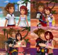 Sora and Kairi KHBBS KH KHII and KHIII Forever