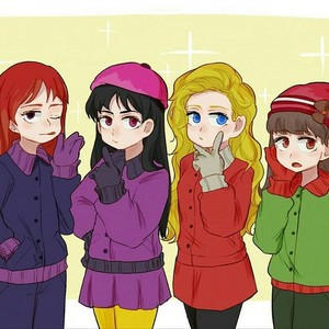 South Park Girls