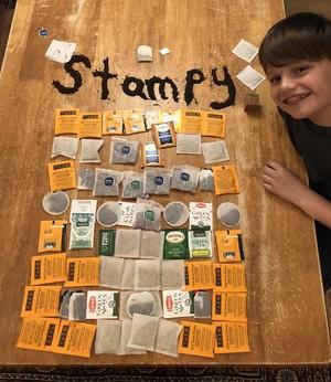 Stampy thé