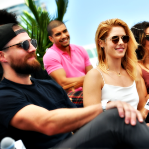 Stephen and Emily @ SDCC 2018