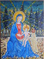 Study Of Madonna and Child from Fra Angelico - fine-art fan art