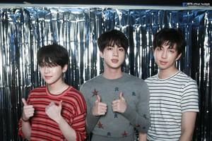 Suga, Jin and RM