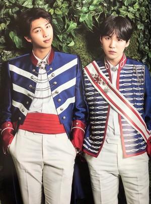 Suga and RM
