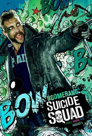 Suicide Squad (2016) Poster - Captain Boomerang