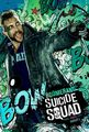 Suicide Squad (2016) Poster - Captain Boomerang