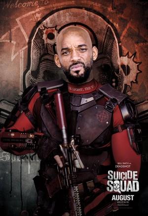 Suicide Squad (2016) Poster - Deadshot