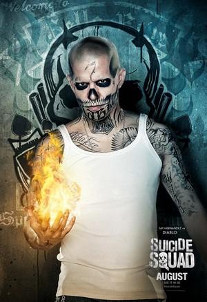 Suicide Squad (2016) Poster - El Diablo