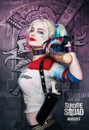 Suicide Squad (2016) Poster - Harley Quinn