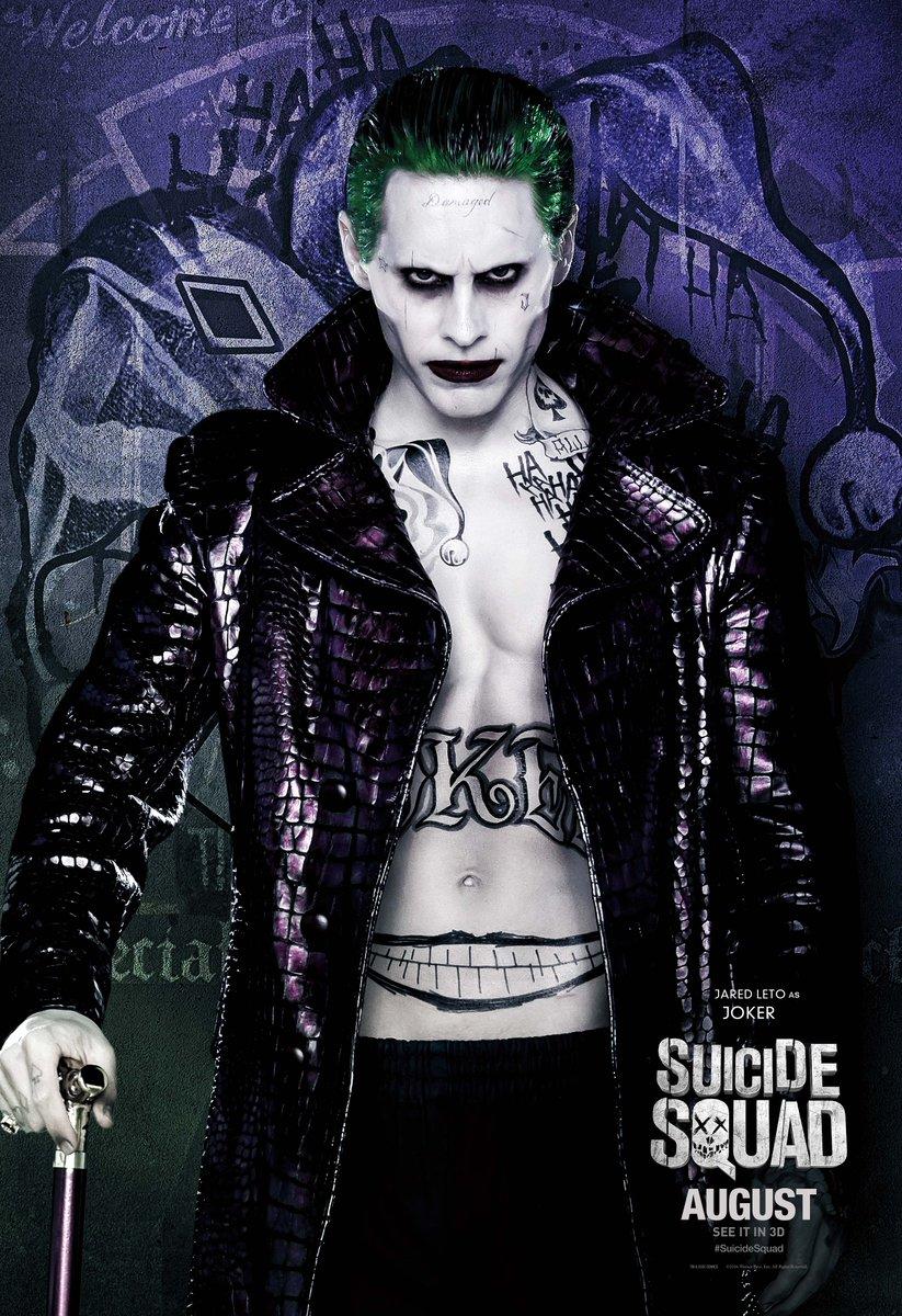 DCEU DC Extended Universe Images Suicide Squad 2016 Poster