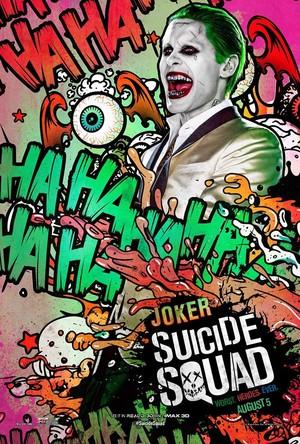 Suicide Squad (2016) Poster - Joker