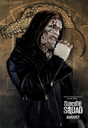 Suicide Squad (2016) Poster - Killer Croc