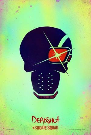 Suicide Squad (2016) Skull Poster - Deadshot