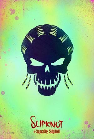 Suicide Squad (2016) Skull Poster - Slipknot