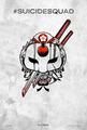 Suicide Squad (2016) Tattoo Poster - Katana