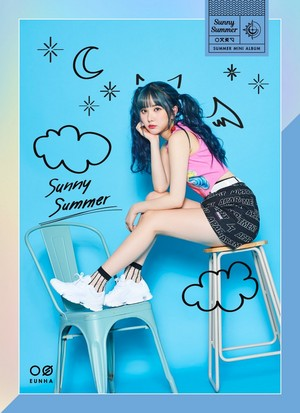 Sunny Summer Concept Photo ~ Eunha