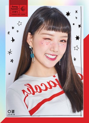 Sunny Summer Mini Album Concept Photo ~ Yerin
