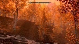 Sunset in Skyrim