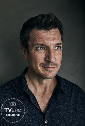 TVLine's Exclusive Comic-Con 2018 Portraits Nathan Fillion, The Rookie