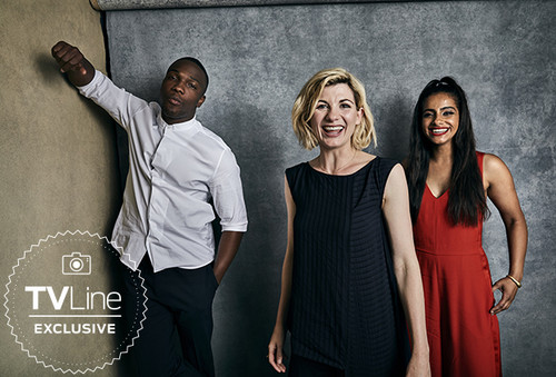 doctor who wallpaper titled TVLine's Exclusive Comic-Con 2018 Portraits The cast of Doctor Who