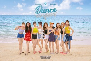 TWICE group teaser image for 'Dance the Night Away'