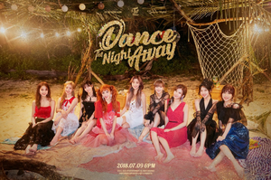 TWICE teaser image for 'Dance the Night Away'