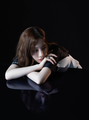Taeyeon signals at 'Something New' with dark yet alluring images - taeyeon-snsd photo