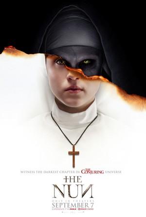 "Taissa Farmiga at ""The Nun"" Movie Poster"